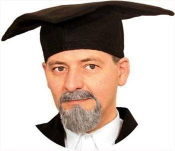 Professor Bartkombi grau