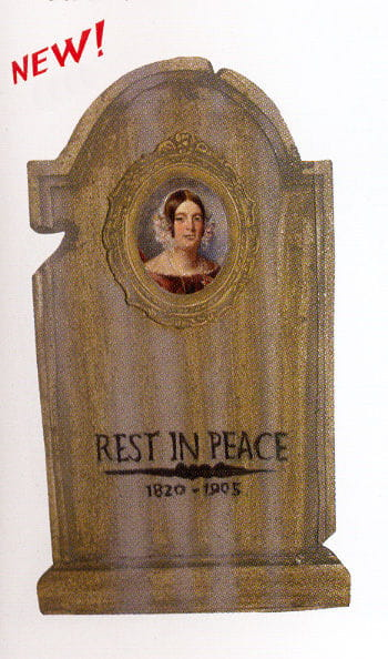 Tombstone Hologram Portrait Betty Gruesome 50cm