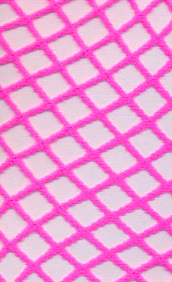Fishnet Tights Neon Pink