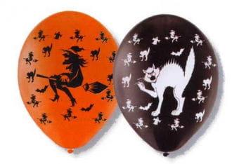 Hexen und Katzen Luftballons