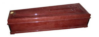 Italian Coffin with Cross