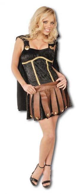 Sexy Gladiator Costume Black Size S / 36