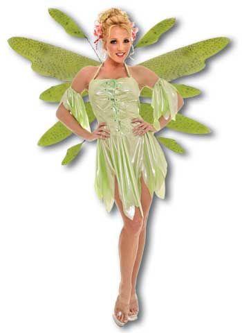Wood Elf Costume Green Large