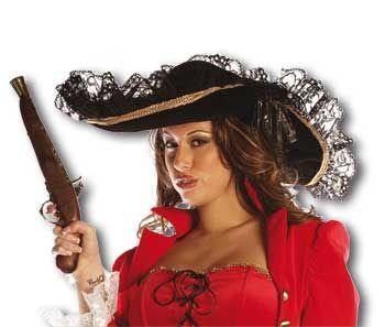 Piraten Hut Schwarz
