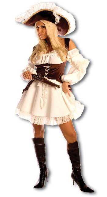 Romantic Pirate Bride Costume Size S / 36-38