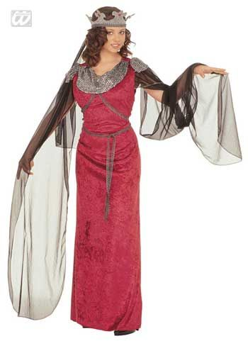 Medieval costume Guinevere Gr. XL