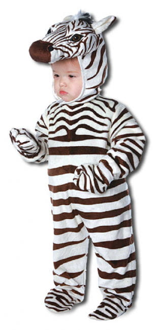 Happy Zebra Child Costume Large