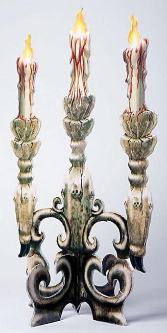 Blutiger Dreiflammiger Kerzenleuchter