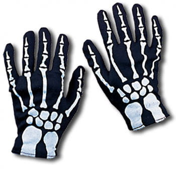Skeleton gloves for children