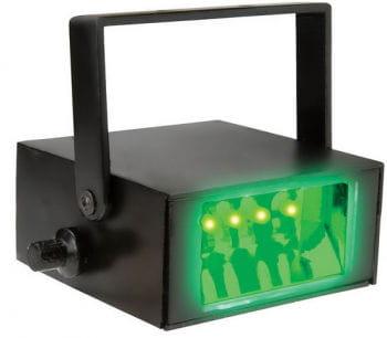 LED Stroboskop grün