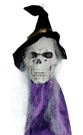 Hängeschädel Hexen Skull