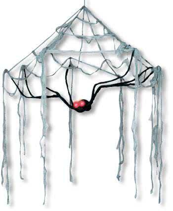 Spooky Cobweb Canopy