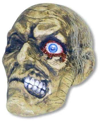 Rotting Zombie Skull Andrew