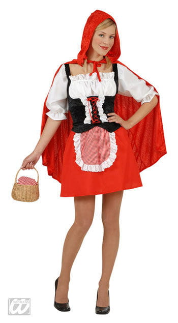 Freches Rotkäppchen Kostüm