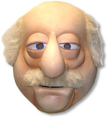 Muppets Waldorf Deluxe Maske