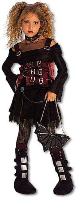 Gothic Girl Child Costume L