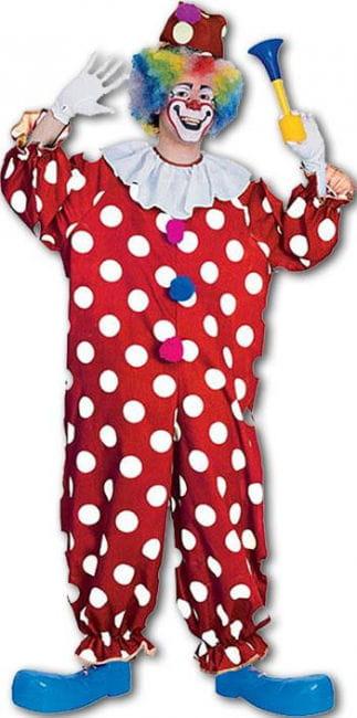 Clown Kostüm Dummer August