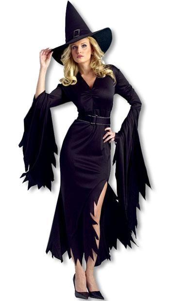 Gothic Hexe Kostüm SM