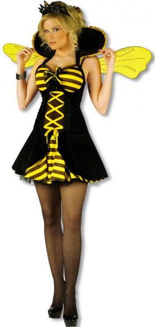 Bienenkönigin Kostüm ML