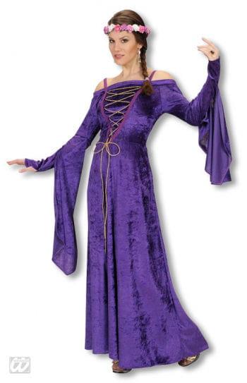 Medieval Damsel Costume Purple M M / 38