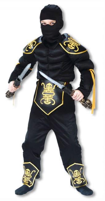 Ninja Warrior Child Costume L