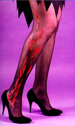 Flames Tights