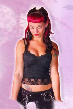Top Black Lace Size L