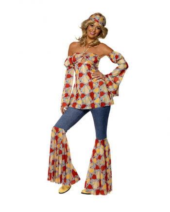 Vintage 70s Hippie Girl Kostm