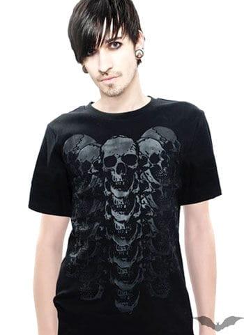 Totenkopf T Shirt Gr.L