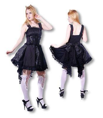 Romantisches Gothic Lolita Kleid L