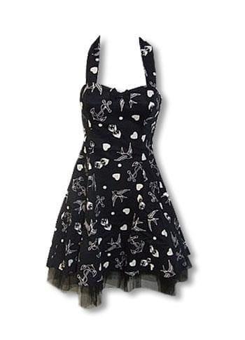 Rockabilly Tattoo Dress black