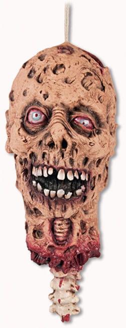 Abegrissener Zombie Schädel