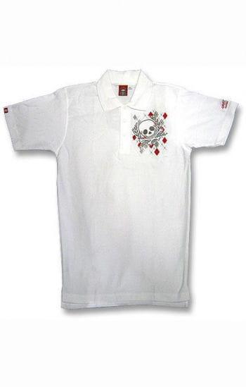 Argyll Diamond and Skull Polo Shirt S