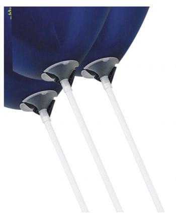 Balloon sticks with holder 100 St.