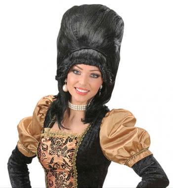 Baronesse Perücke schwarz