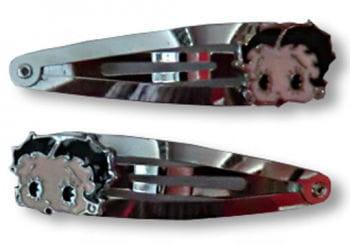 Betty Boop hair clips