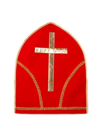 Bishop hat red