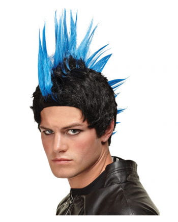 Iroquois wig Deluxe blue
