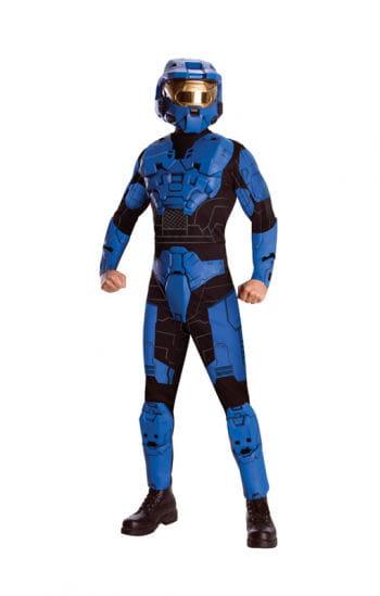 Blue Spartan Deluxe Kostüm