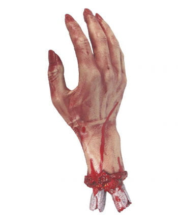 Bloody Hand with bone stump