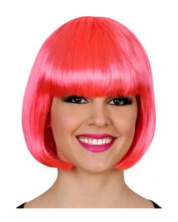 Bob Wig neon pink
