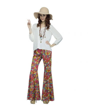 Colorful Hippie Flares Peace