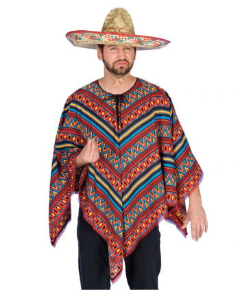 Bunter Mexikaner Poncho