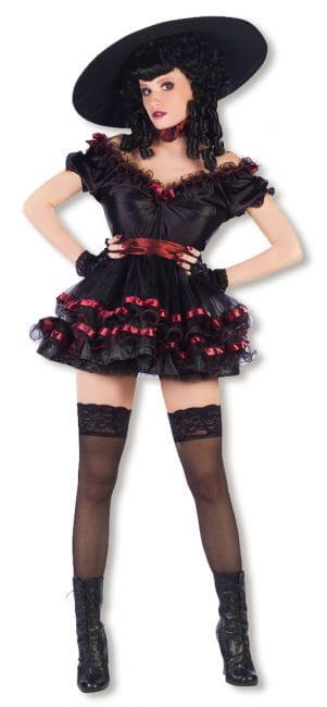 Burlesque Variete Tänzerin Kostüm Gr. SM