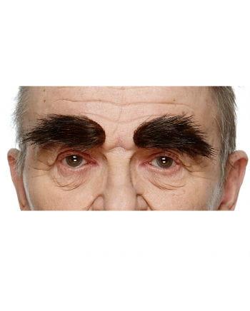 Selbstklebende Augenbrauen Schwarzbraun
