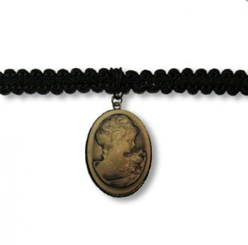 Cameo Gothic Necklace