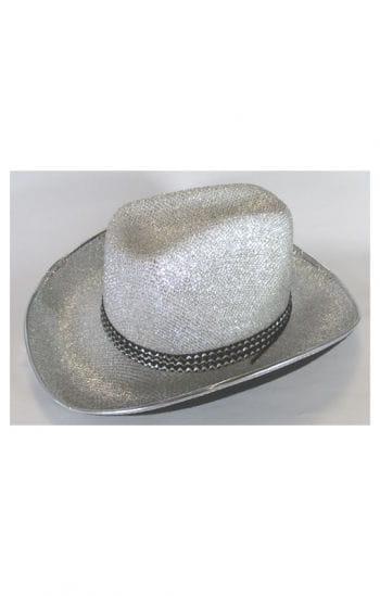 Cowgirl Hut silber
