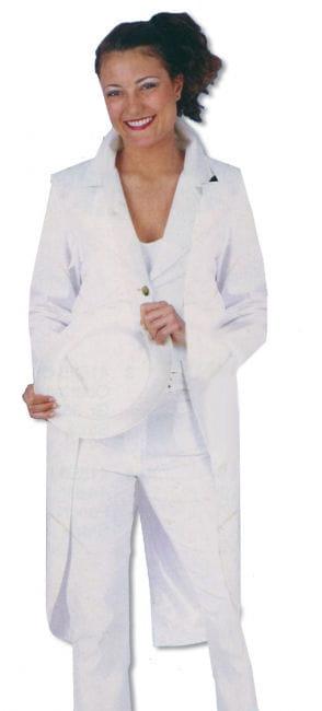 Ladies Tailcoat White XXXL / 46