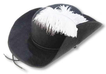 Elegant Musketeer Hat