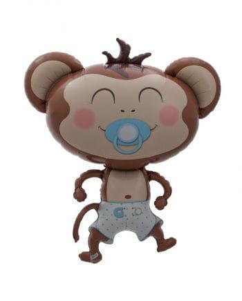 Folienballon Baby Boy Äffchen